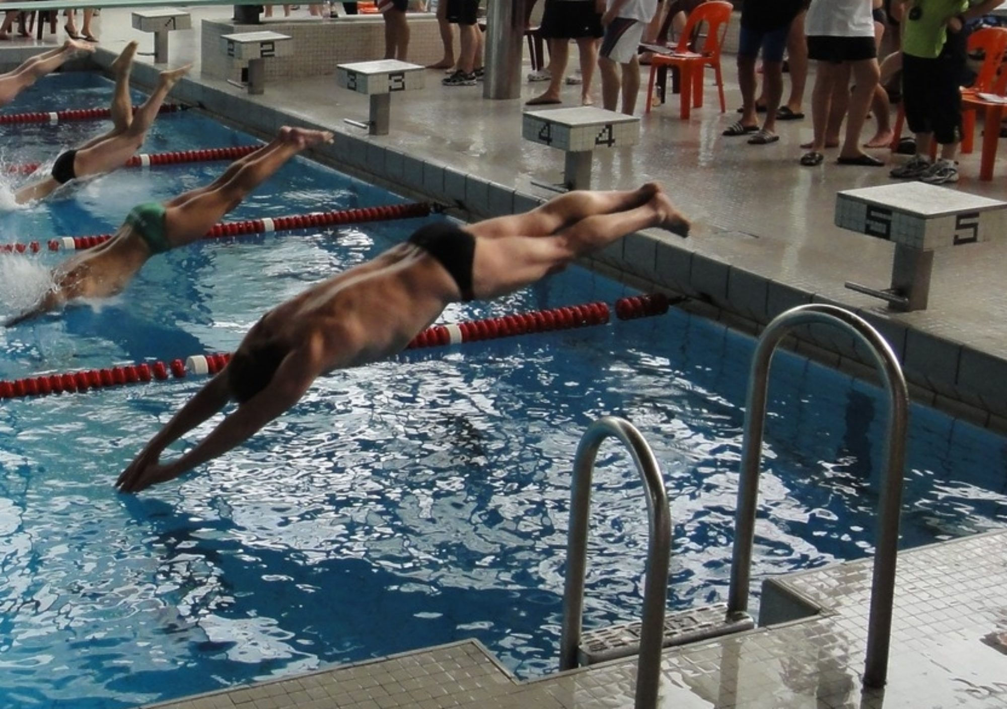 Schwimmen - Michels hauptsportart